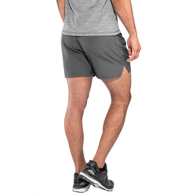 asics Silver - Short running Homme - gris